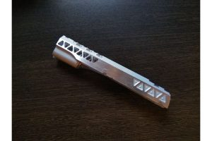 Airsoft Masterpiece Aluminum Triangles Slide For Hi-CAPA/1911 (Silver)
