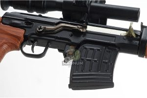 Blackcat Airsoft Mini Model Gun SVD - Wooden
