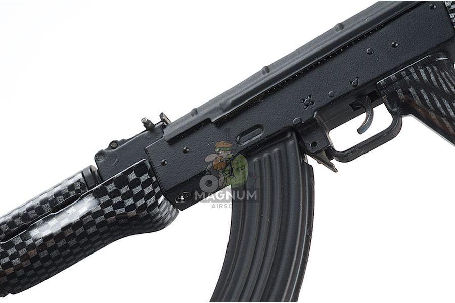 Blackcat Airsoft Mini Model Gun AK74