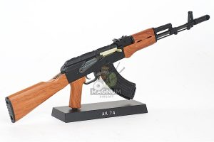Blackcat Airsoft Mini Model Gun AK74 - Wooden