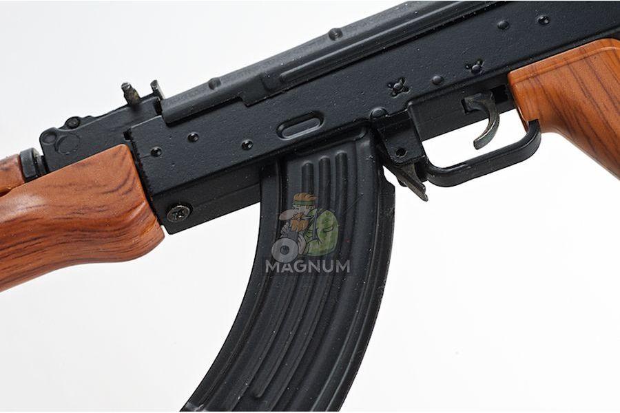 Blackcat Airsoft Mini Model Gun AK74 - Wooden