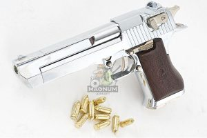 Blackcat Airsoft Mini Model Gun Desert Eagle (Shell Ejection) - Silver