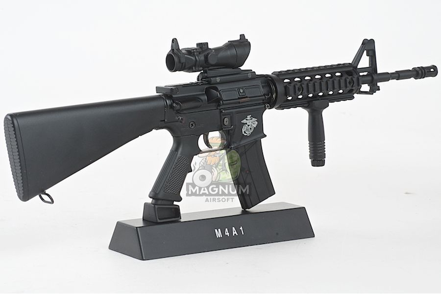 Blackcat Airsoft Mini Model Gun M4A1 RIS Fixed Stock