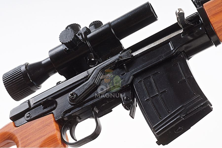 Blackcat Airsoft Mini Model Gun SVD (Scale 1:3)