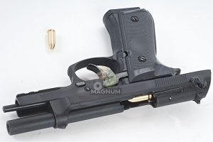 Blackcat Airsoft Min Model Gun M92F (Shell Ejection) - Black