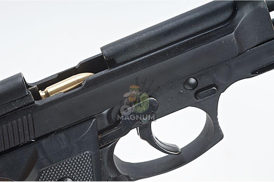Blackcat Airsoft Min Model Gun M92F (Shell Ejection) - Black