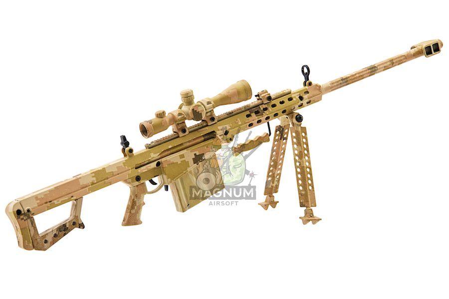 Blackcat Airsoft Mini Model Gun M82A1 (Scale 1:4) - Tan