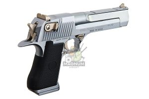 Blackcat Arisoft High Precision Min Model Gun Desert Eagle - Silver