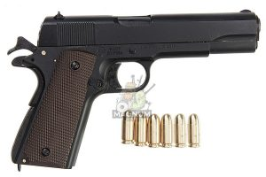 Blackcat Airsoft High Precision Mini Model Gun 1911 - Black