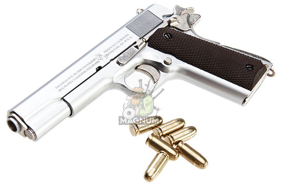 Blackcat Airsoft High Precision Mini Model Gun 1911 - Silver