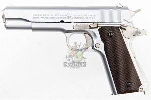 Blackcat Airsoft High Precision Mini Model Gun 1911 - Silver