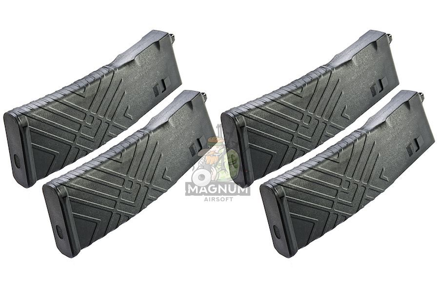 Blackcat Polymer 30 / 120 rds Magazine for Systema PTW (4pcs/ Box)