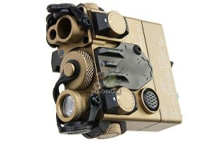 Blackcat Airsoft PEQ-15A DBAL-A2 Laser Devices (with IR Illuminator) - Tan