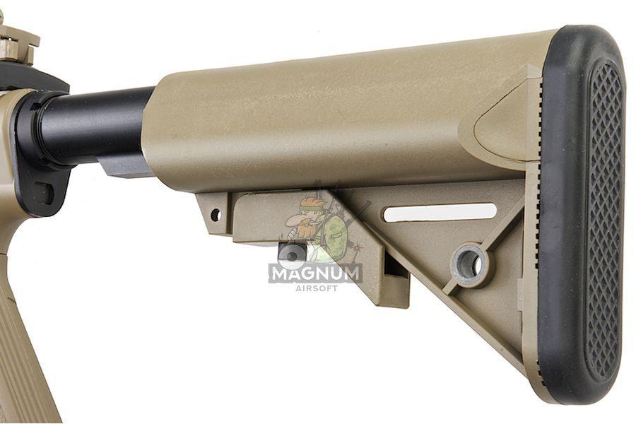 Cybergun Metal Colt M4 Special Forces Mini AEG - Tan