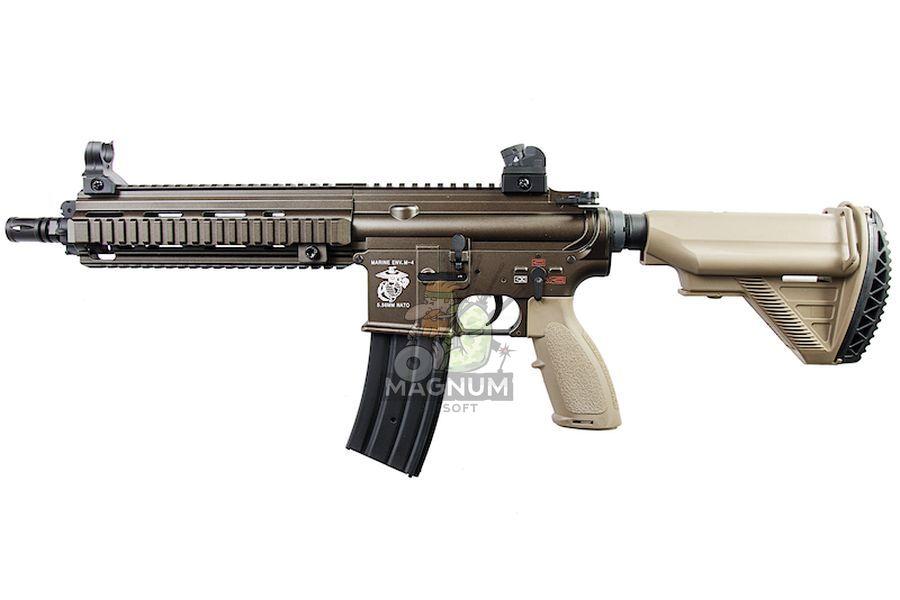 E&C EC102 Full Metal HK416 AEG - Dark Brown