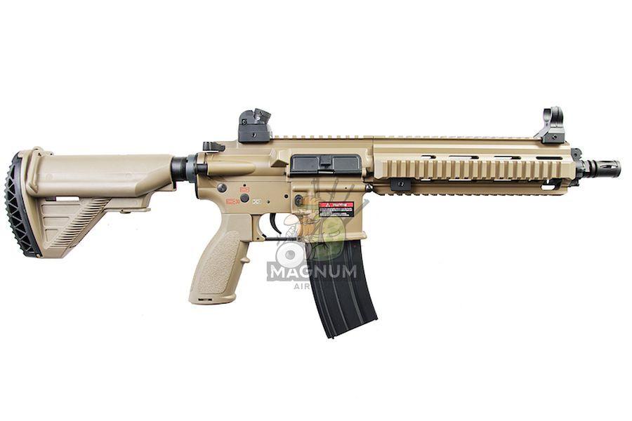 E&C EC102 Full Metal HK416 AEG - Dark Earth