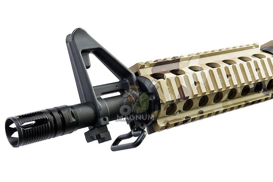 E&C EC302 Full Metal M4 CQB-R AEG - Multicam