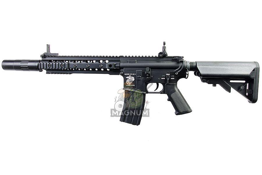E&C EC317 Full Metal KAC SR16-E3 URX3 10 inch AEG (w/ Silencer)