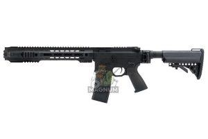 EMG Salient Arms Licensed GRY AR15 (M4) SBR AEG (Folding Stock) - Black (by G&P)