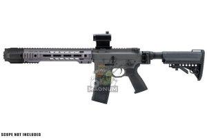 EMG Salient Arms Licensed GRY AR15 (M4) SBR AEG (Folding Stock) - Gray (by G&P)