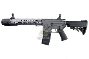 EMG Salient Arms Licensed GRY AR15 (M4) Gen. 2 SBR AEG with Crane Stock - Gray (by G&P)