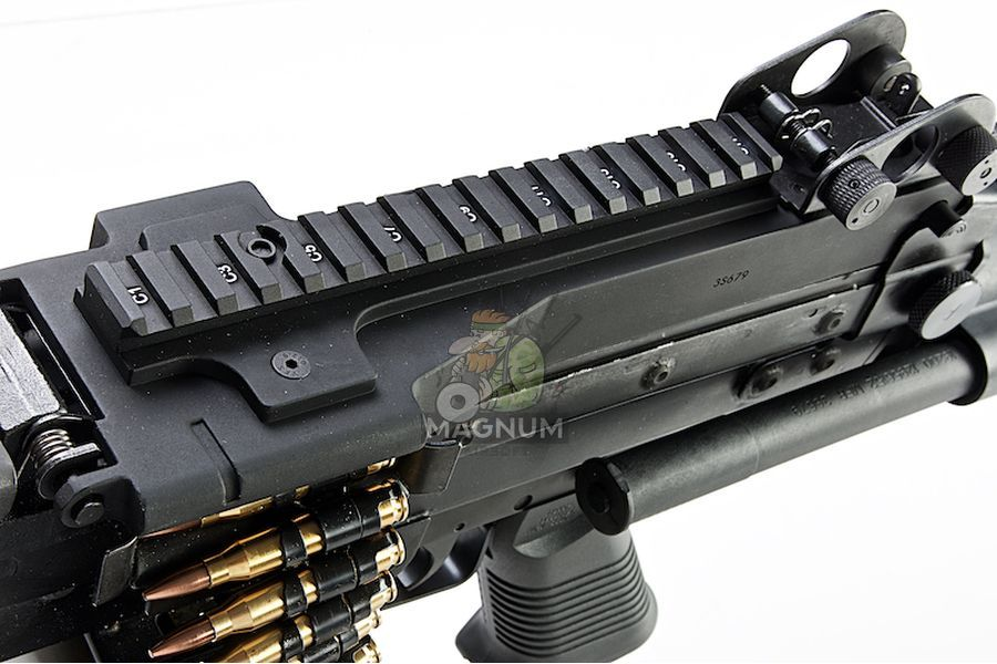 G&P MK46 Mod 0 (P.N.) AEG Machine Gun - DX (Black)