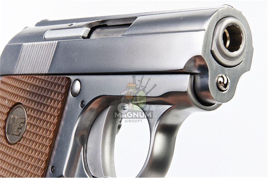 WE CT25 GBB Pistol - Silver