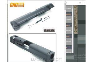 Guarder 6061 Aluminum CNC Slide for M&P9 (.40 Marking/Black)