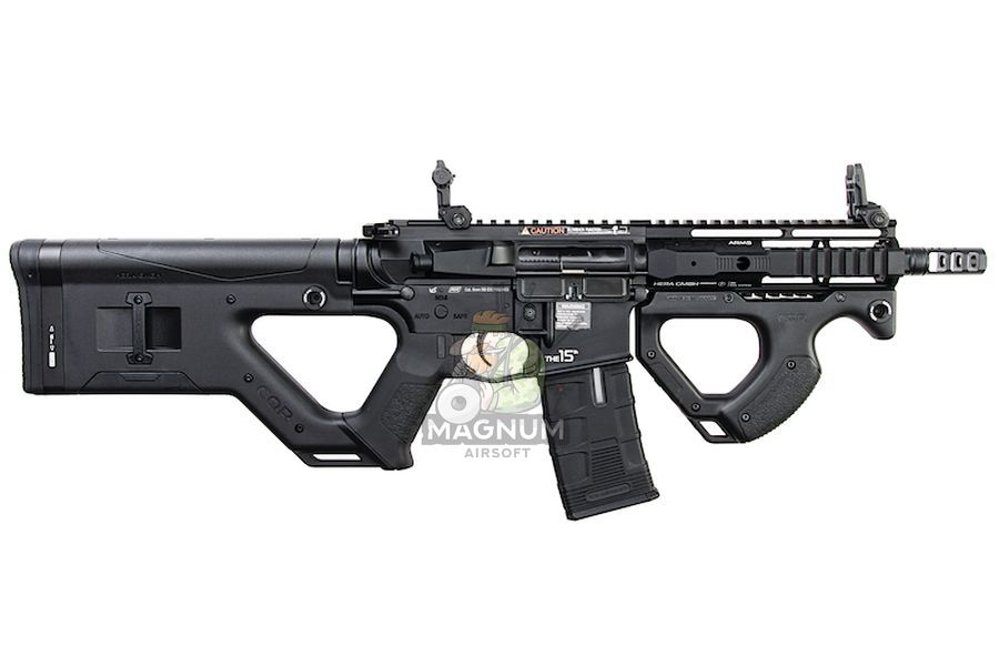 ICS CQR M4 EBB Rifle w/ S3 Electronic Trigger - Black (Licensed by ASG HERA Arms)