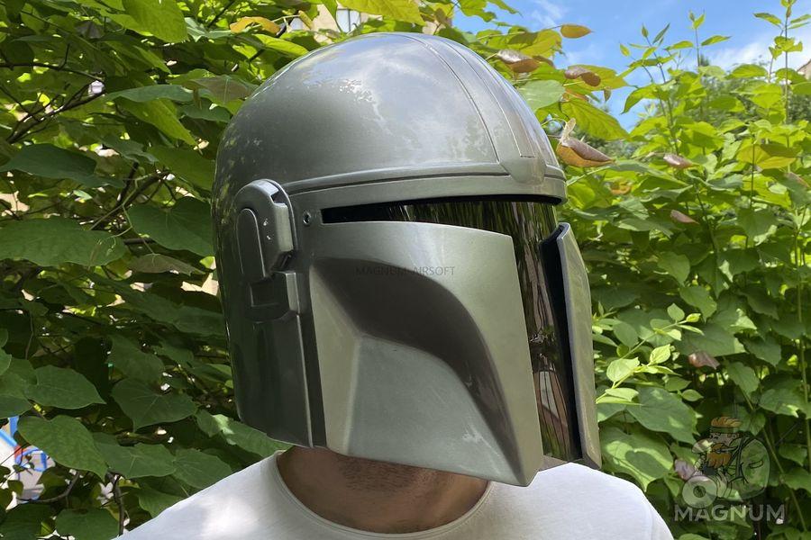 IMG 7120 - Шлем Мандалорец