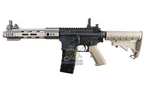 KJ Works Full Metal M4 RIS Airsoft GBB Rifle