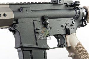 KJ Works Full Metal M4 RIS Airsoft GBB Rifle