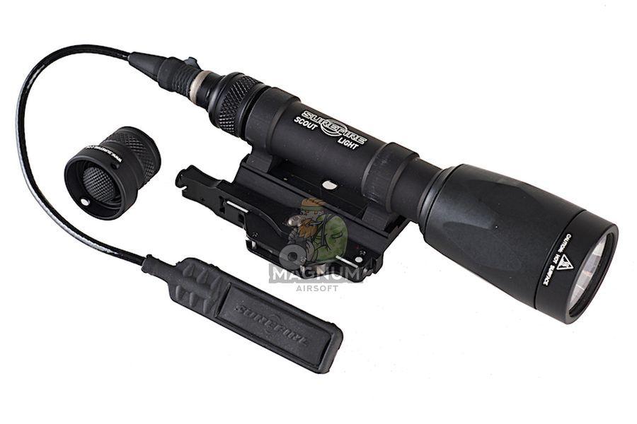 Surefire M620P Fury Rail-Mountable LED Weapon Light (600 Lumens / Black)