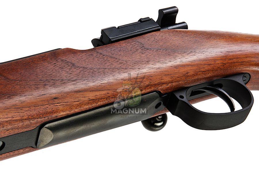 Marushin Mauser Kar98K Sporter Black HW Walnut Stock (6mm Gas Version)