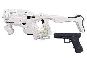 AVATAR HORNET M25 Obsidian Kit w/ Stock (Mass Effect) with Umarex Glock 17 Gen 3 GBB - White (Complete Set)