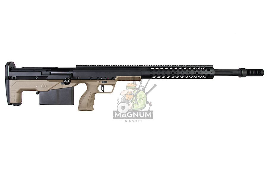 SBA BLT 20FDE 2 - Silverback HTI .50 BMG Rifle (Pull Bolt) Black / FDE