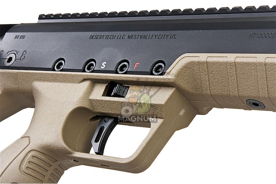 SBA BLT 20FDE 3 - Silverback HTI .50 BMG Rifle (Pull Bolt) Black / FDE