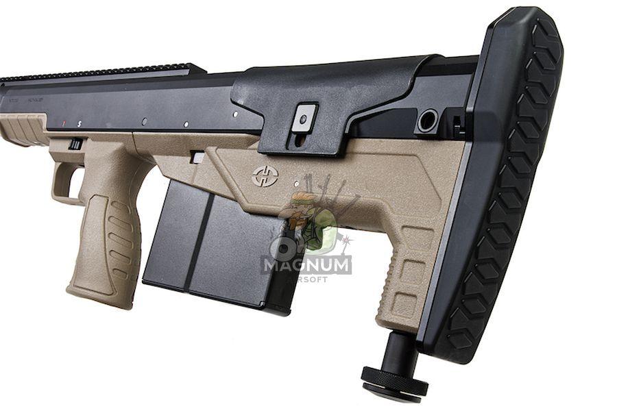 SBA BLT 20FDE 4 - Silverback HTI .50 BMG Rifle (Pull Bolt) Black / FDE