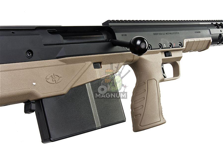 SBA BLT 20FDE 5 - Silverback HTI .50 BMG Rifle (Pull Bolt) Black / FDE