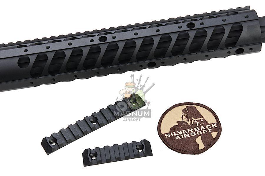 SBA BLT 20FDE 7 - Silverback HTI .50 BMG Rifle (Pull Bolt) Black / FDE