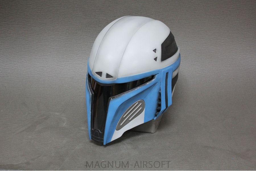 SHlem Mandalorets V2 2 - Шлем «Мандалорец V2»
