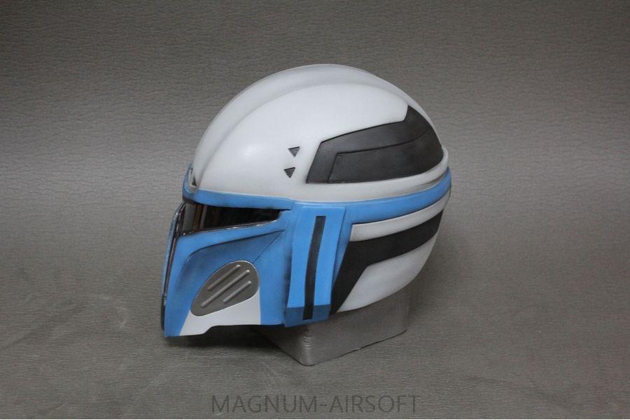 SHlem Mandalorets V2 3 - Шлем «Мандалорец V2»