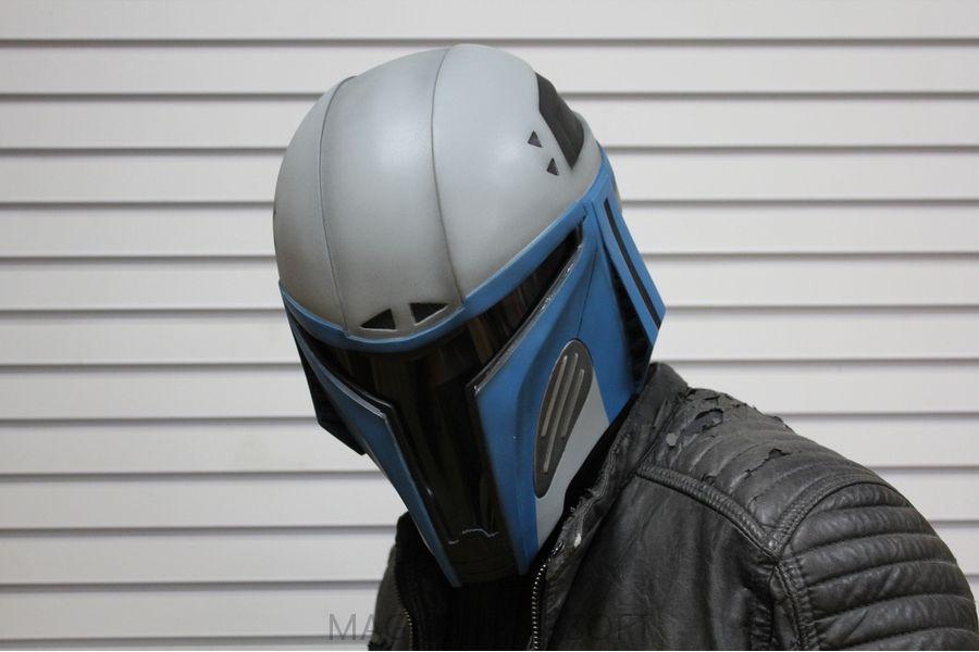 SHlem Mandalorets V2 5 - Шлем «Мандалорец V2»
