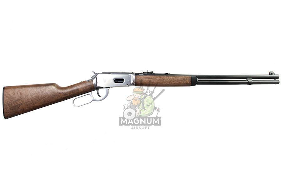 Umarex Legends Cowboy M1894 Lever Action Rifle (6mm Version) - Silver