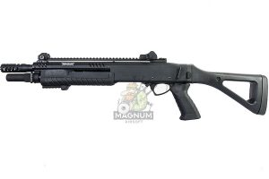 VFC FABARM Licensed STF12 Compact 11 inch Gas Shotgun - Black