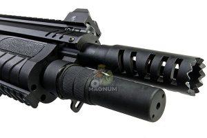 VFC FABARM Licensed STF12 Compact 11 inch Gas Shotgun - Black