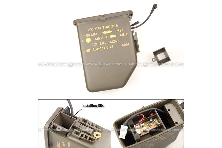 G&P M249 Auto Loading Ammo Box (3000rds)