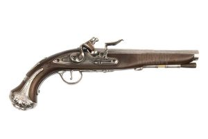 KTW Flintlock Pistol (Air Cocking Gun)