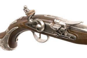 KTW Flintlock Pistol (Air Cocking Gun)