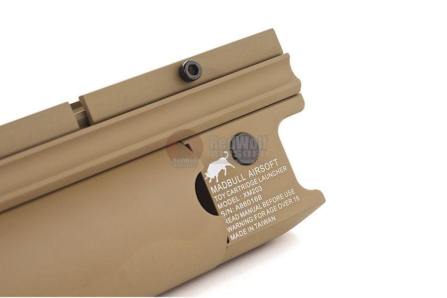 Madbull XM203 Long Moscart Launcher (Tan)